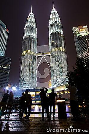Petronas Towers, Twin Towers of Kuala Lumpur, Mala