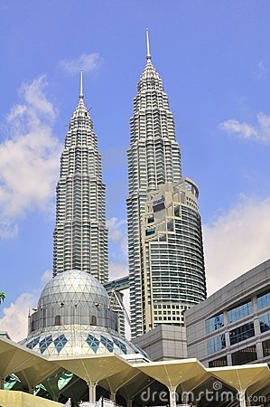 Petronas twin tower Editorial Stock Photo