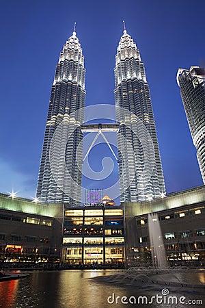 Petronas Twin Tower, Kuala Lumpur, Malaysia