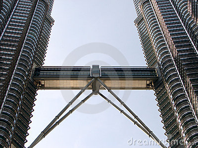 Petronas twin tower sky walk