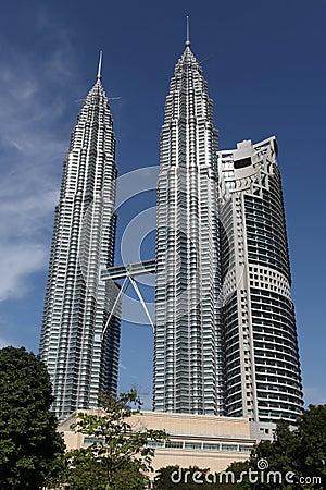 Free Petronas Twin Towers Royalty Free Stock Image - 12626446