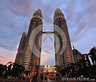 Petronas Twin Towers Editorial Image