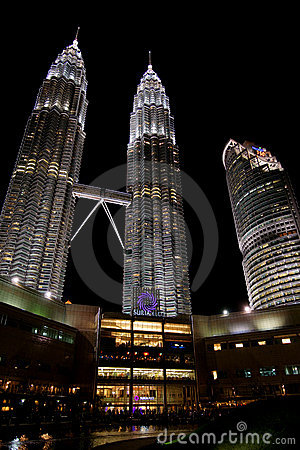 Petronas Twin Towers Editorial Photo