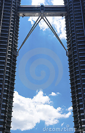 Petronas Twin Towers Editorial Stock Photo
