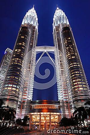 Petronas Twin Towers Editorial Stock Photo