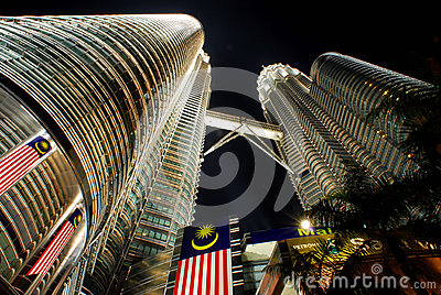 Petronas Twin Towers Editorial Image