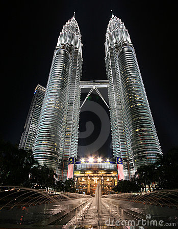 Free Petronas Twin Towers Royalty Free Stock Photography - 9939537