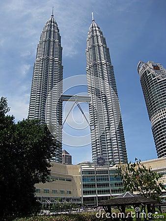Free Petronas Twin Towers  KL Malaysia Stock Photos - 51310833