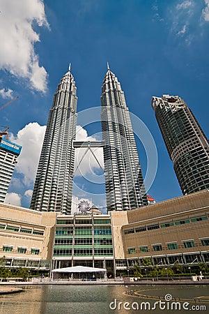 Petronas Twin Towers - Kuala Lumpur, Malaysia Editorial Photo