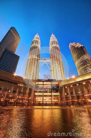 Free Petronas Twin Towers, Malaysia Stock Photos - 29500323