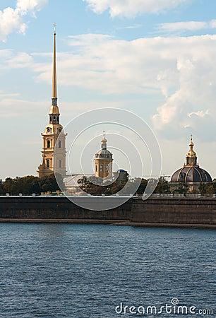 Free Petropavlovskaya Fortress Stock Photos - 35773103