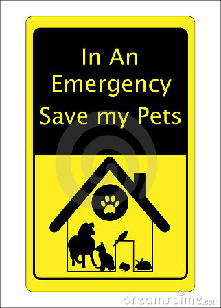 Pets Cat Dog Rescue Sign