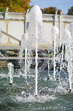 Peu de fontaines