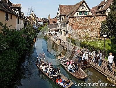 Peu de Venise-Colmar Image stock éditorial