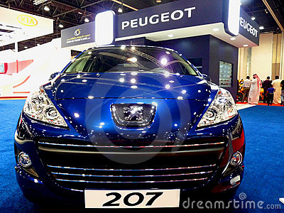 Peugeot 207 Editorial Stock Photo