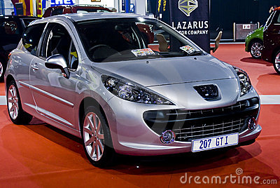 Peugeot 207 GTI - 5 Door Hatch - MPH Editorial Photography
