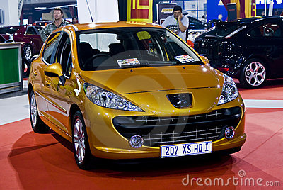 Peugeot 207 XS HDi - Family Hatch - MPH Editorial Photography