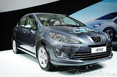 Peugeot 408 Editorial Stock Photo