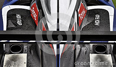 Peugeot 908 HDi FAP endurance racing car Editorial Image
