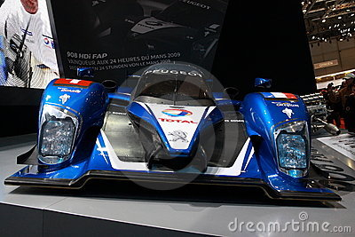 Peugeot 908 HDI Le Mans Series Editorial Stock Image
