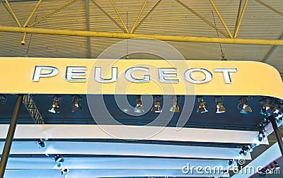 Peugeot Auto logo Editorial Image