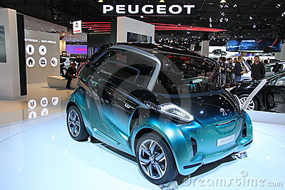 PEUGEOT BB1 Concept Editorial Stock Image