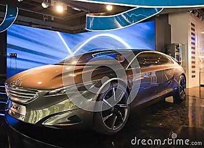 Peugeot HX1 Metamorphosis Editorial Stock Photo