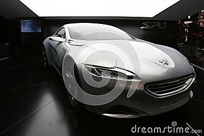 Peugeot SR1 concept car 2010 Editorial Photo