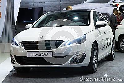 Peugeot 308 Editorial Image