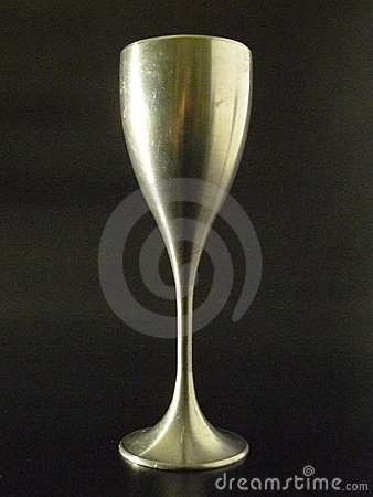 Pewter Wine Glass