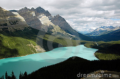 Peyto Lake Royalty Free Stock Images - Image: 3992429