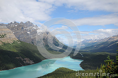 Peyto Lake Canadian Rockies