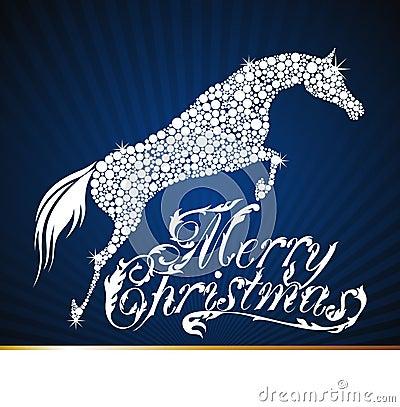 Frohe Weihnachten Geschenk Gruselig Pferd Einhorn