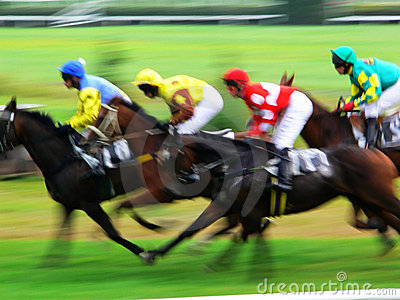 Pferdenrennenende