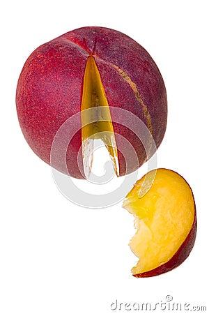 Pfirsichfrucht