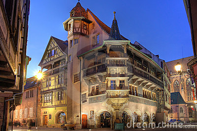 Pfister House, Colmar, France