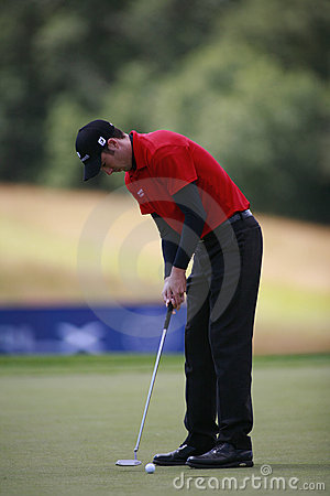 PGA European Open at the London Golf Club Ash Kent Editorial Stock Image