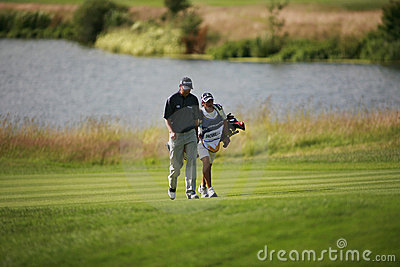 PGA European Open at the London Golf Club Ash Kent Editorial Image