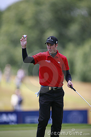 PGA European Open at the London Golf Club Ash Kent Editorial Photo