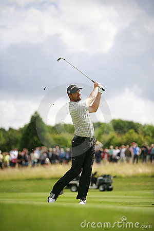 PGA European Open at the London Golf Club Ash Kent Editorial Photography