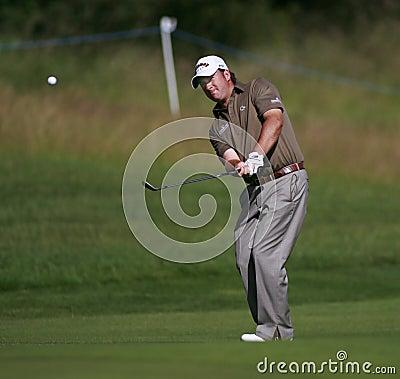 PGA European Open at the London Golf Club Ash Kent Editorial Image
