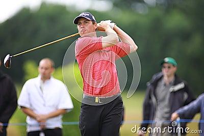 PGA European Open at the London Golf Club Ash Kent Editorial Stock Image