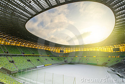 PGE Arena in Gdansk, stadium for Euro Cup 2012