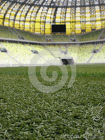 PGE Arena Gdansk Stadium Playing Field Editorial Photo