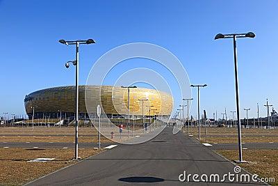 PGE Arena stadium Editorial Photography