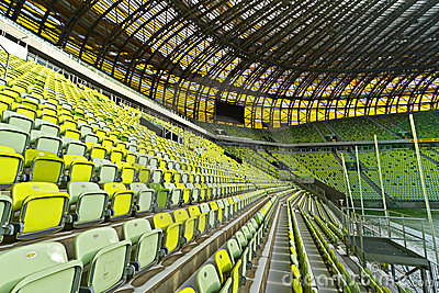 PGE Arena stadium for 43,615 spectators Editorial Stock Photo