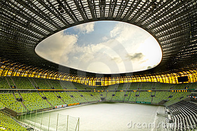 PGE Arena stadium for 43,615 spectators Editorial Image