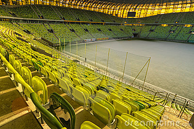 PGE Arena stadium for 43,615 spectators Editorial Stock Image