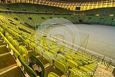PGE Arena stadium for 43,615 spectators Editorial Stock Image