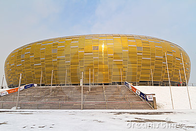 PGE Arena stadium in Gdansk Editorial Stock Image